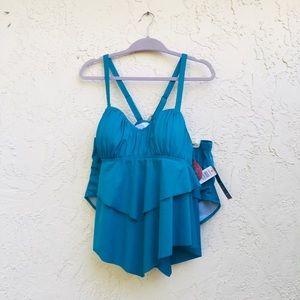 Torrid 2 piece swim suit. NWT. Size 0/12 & 1/14-16
